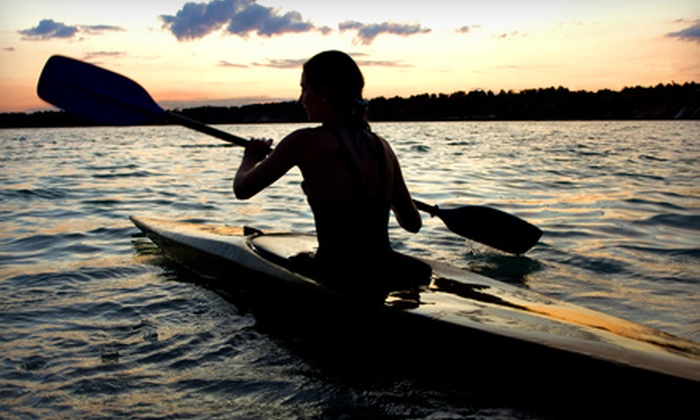 The Paddler's Shop at Rivendell Marine - Monument Beach: $50 for an All-Day Kayak Rental for Two at The Paddler's Shop at Rivendell Marine in Monument Beach ($100 Value)