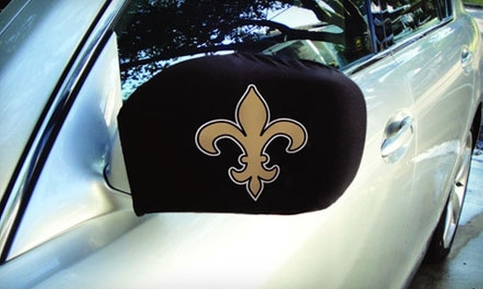 Fanflags: $8 for a Pair of New Orleans Fleur-De-Lis or LSU Side-Mirror Covers from Fanflags ($15.95 Value)