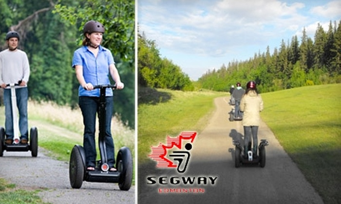 Segway of Edmonton - Summerlea: $35 for a 90-Minute Segway Tour from Segway of Edmonton ($70 Value)