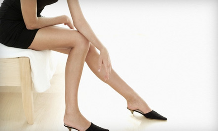 Center for Vein Restoration - Portage: One, Two, or Three Sclerotherapy Treatments with Consultation at Center for Vein Restoration (Up to 57% Off)