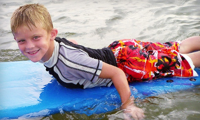 Texas Surf Camps - Port Aransas: $35 for a Surf Lesson from Texas Surf Camps in Port Aransas ($70 Value)