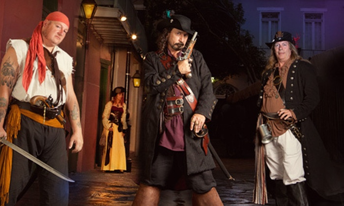 Gray Line Tours - New Orleans: $26 for Pirate Walking Tour for Two from Gray Line Tours (Up to $54 Value)