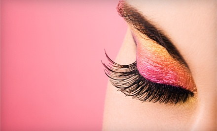 Demi-Cat Eyelash Extensions (a $200 value) - Makeup Chicago in Highland Park