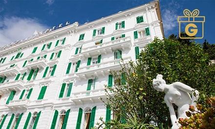 Liguria 4*: 1 o 2 notti in camera vista mare con colazione e cena Grand Hotel & Des Anglais