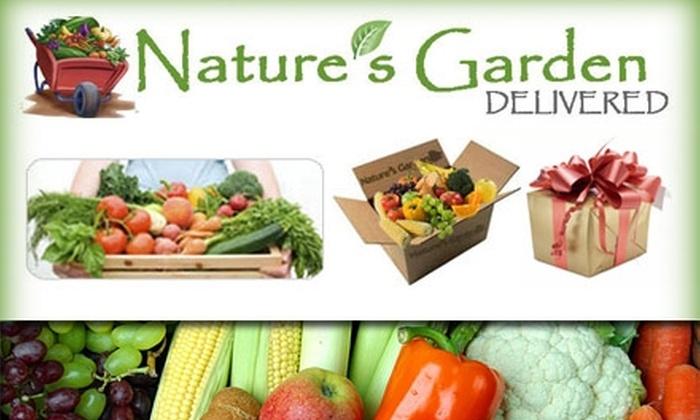 Nature's Garden Delivered - Atlanta: $19 for Organic Produce from Nature's Garden Delivered