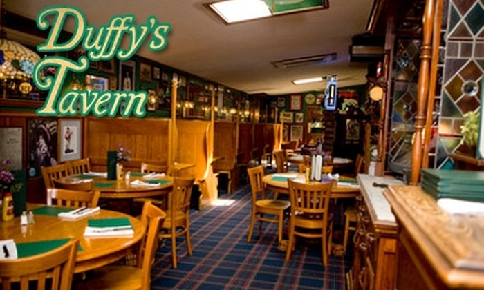 Duffy's Tavern - West Haven: $20 for $40 of Upscale Pub Fare and Drinks at Duffy's Tavern in New Haven