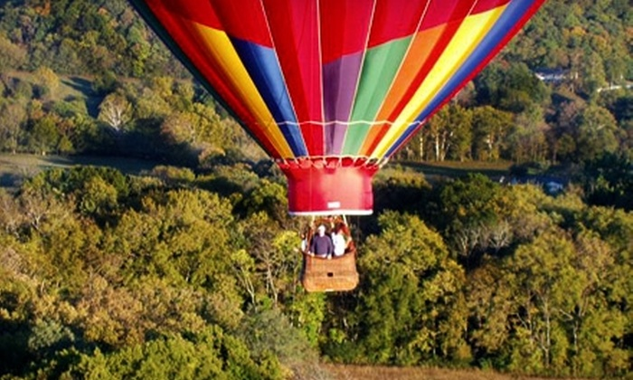 Hot air balloon collierville tn