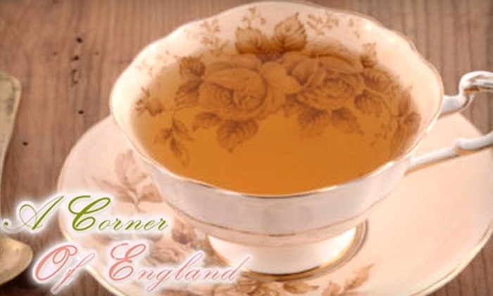 A Corner of England - St. Petersburg: $15 for $30 Worth of Organic Tea, Homemade Lunch Fare, and Merchandise at A Corner of England in St. Petersburg