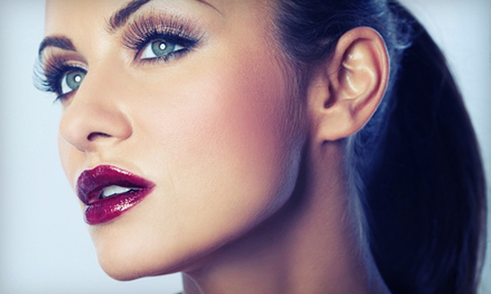 Facelogic Spa - Union Hill-Novelty Hill: Express Facial, Full Set of Glam Eyelash Extensions, or Both at Facelogic Spa in Redmond (Up to 55% Off)