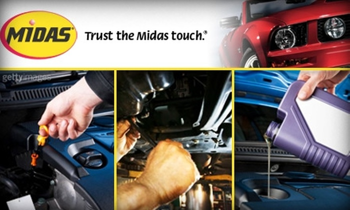 Midas - Multiple Locations: $16 for a Complete Oil Change at Midas (Up to $31.99 Value)