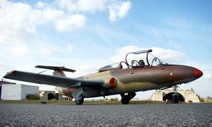 Czech-Jet: 15 minut lotu myśliwcem L-29 Delfin z profesjonalnym pilotem za 3999 zł z firmą Czech-Jet w Czechach