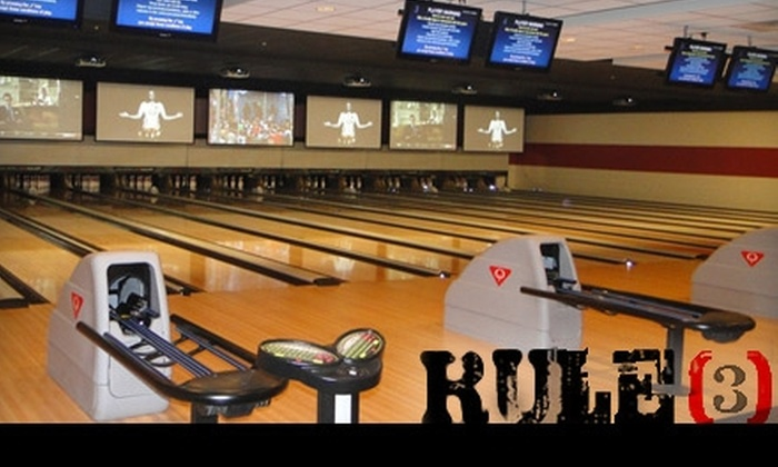 Rule 3 - South Columbus: $30 for Two Hours of Bowling and Shoe Rental for Up to Six People at Rule 3 in Pickerington