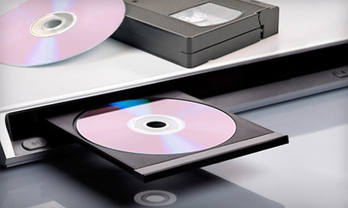 Digital Showcase LLC - Northwest Side: $15 for One VHS-to-DVD or Other Media Conversion at Digital Showcase LLC ($40 Value)