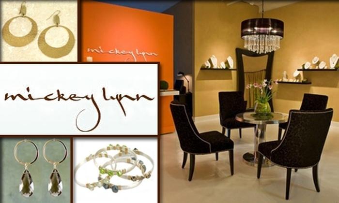Mickey Lynn  - Buckhead: $60 for $140 Worth of Handmade Jewelry Designs from Mickey Lynn