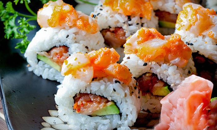 Sushi Moto Japanese Bistro - Terra Losa: $10 for $20 or $20 for $40 Worth of Japanese Fare at Sushi Moto Japanese Bistro