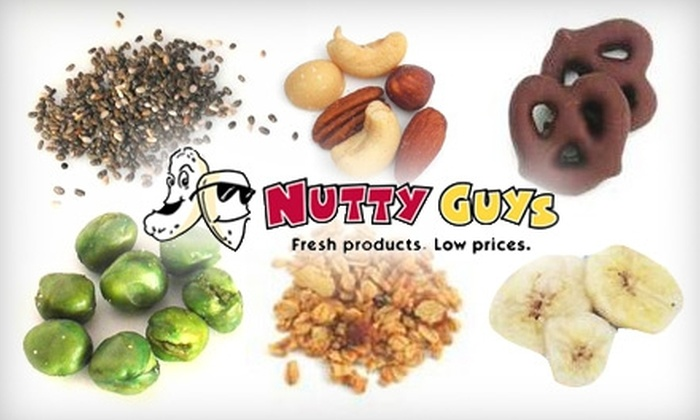 Nutty Guys - Spokane / Coeur d'Alene: $10 for $25 Worth of Nuts, Dried Fruit, and More from Nutty Guys