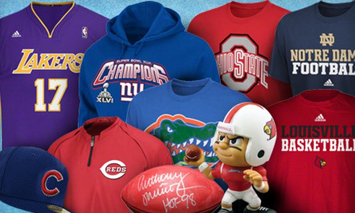BeyondGraduation.com: Collegiate- and Professional-Sports Memorabilia from BeyondGraduation.com (Half Off). Two Options Available.