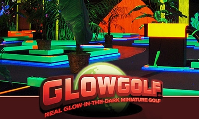 Glowgolf - Madison: $6 for Two Child Passes or $8 for Two Adult Passes Good for Three Rounds of Golf at Glowgolf