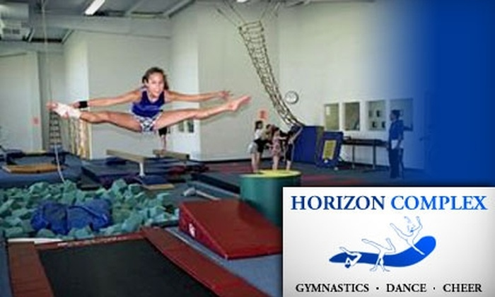 Horizon Complex - Georgetown: $20 for Four Weeks of Kids' Gymnastics, Dance, or Cheer Classes at Horizon Complex in Jenison (Up to $117 Value) or $20 for a One-Month Adult Membership to Escape Fitness Center in Jenison ($93 Value)