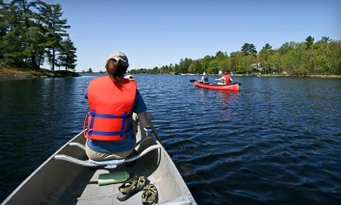 Camp Webster - North Webster: $18 for Two-Hour Canoe, Rowboat, or Paddleboat Rental ($36 Value)