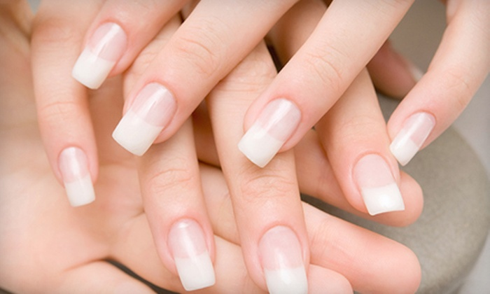Bliss Nail Spa - Eastwood: No-Chip Manicure, Almond-Milk Pedicure, or Mani-Pedi Package at Bliss Nail Spa (Up to 56% Off)