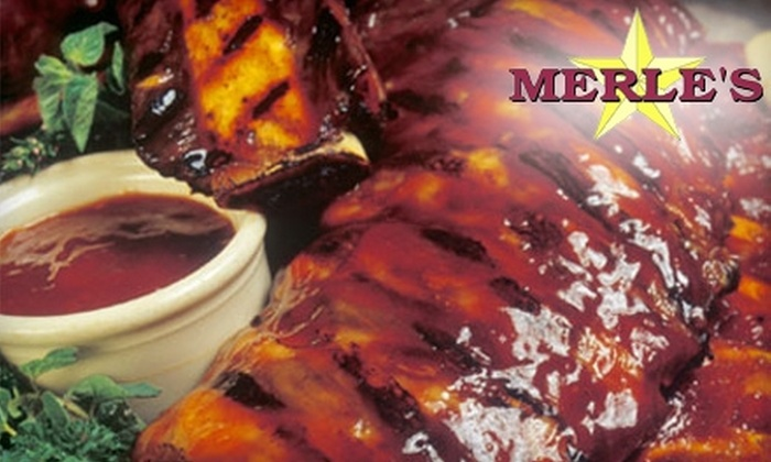 Merle's #1 BBQ - Evanston: $28 for a Three-Course Meal for Two at Merle's #1 BBQ in Evanston (Up to $56 Value)