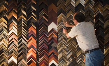 $60 Groupon for Custom Framing at Frame of Mine - Frame of Mine in Washington