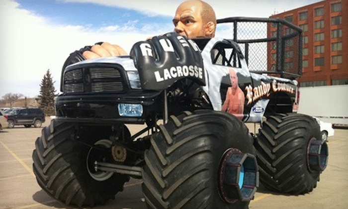 Capital EX Monster Truck Show at Rexall Place - Edmonton: $18 for One Ticket to See Capital EX Monster Truck Show at Rexall Place on July 27 at 7 p.m. (Up to $36.50 Value)