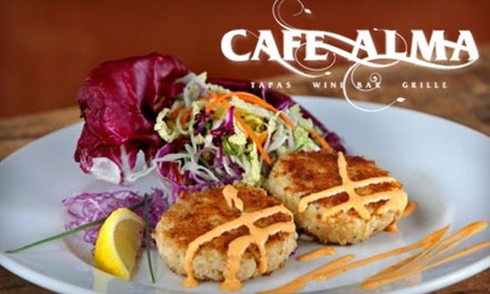 Cafe Alma - Downtown St. Petersburg: $15 for $30 Worth of Upscale Dinner Fare and Beverages at Cafe Alma