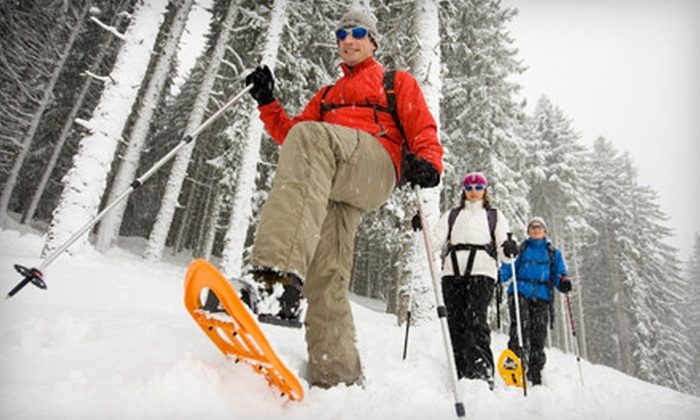 Local Motion Outfitters - Cedarburg: Half-Day Snowshoe Rental for Two or Four from Local Motion Outfitters (Up to 54% Off)