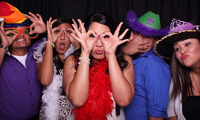 Desert Photo Booth - Catalina Foothills: Two- or Four-Hour Photo-Booth Rental Plus Custom Template from Desert Photo Booth
