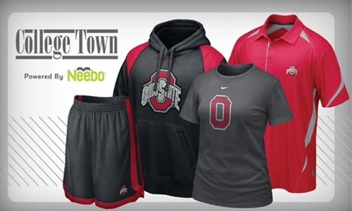 College Town - University: $10 for $20 Worth of Apparel, Gifts, and More at College Town