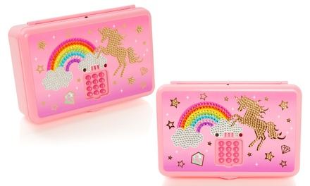 Unicorn Keycode Trinket Box