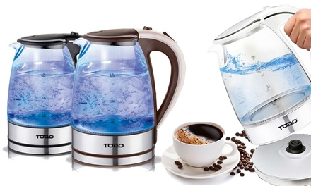 $29 for a Todo 1.7l Cordless Glass Kettle Don't Pay $139