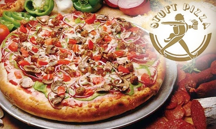 Stuft Pizza - Milpitas: $10 for $24 Worth of Pizza and House-Brewed Beer at Stuft Pizza of Milpitas