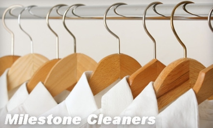 Milestone Cleaners  - North Potomac: $12 for $25 Worth of Eco-Friendly Dry Cleaning at Milestone Cleaners in Rockville