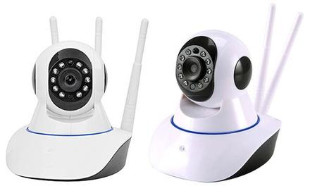 1 o 2 telecamere di videosorveglianza Ip Cam Camera HD 720p Wireless disponibili in 2 modelli