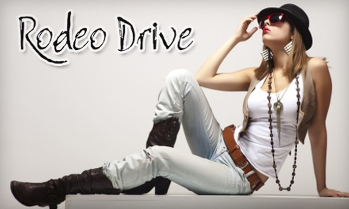 Rodeo Drive - Northfield: $50 for $100 Worth of Boutique Apparel at Rodeo Drive