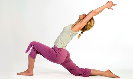 One or Two Month of Unlimited Yoga Classes at Rasa Flow Yoga (Up to 64% Off)