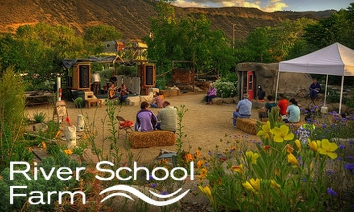 River School Farm - Reno: $10 for Two Classes or $20 Worth of Workshops at River School Farm (Up to $40 Value)