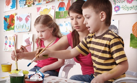 Two-Hour Children's After School Art Class ($35 value) - Talin Tropic Co. in Boca Raton