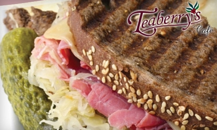 Teaberry's Café - Downtown Vinton: $7 for $15 Worth of Sandwiches, Salads, and Drinks at Teaberry's Café