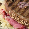 $7 for Sandwiches and Drinks at Teaberry's Café