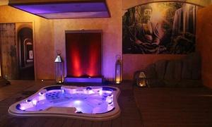 Raxul Spa: Percorso Spa di coppia con massaggio viso o corpo al Raxul Spa in centro a Cagliari (sconto fino a 68%)