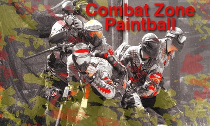 Combat Zone Paintball Las Vegas - Clark: $29 for an All-Day Entry Package with Rental Equipment and Paint at Combat Zone Paintball Las Vegas ($60 Value)