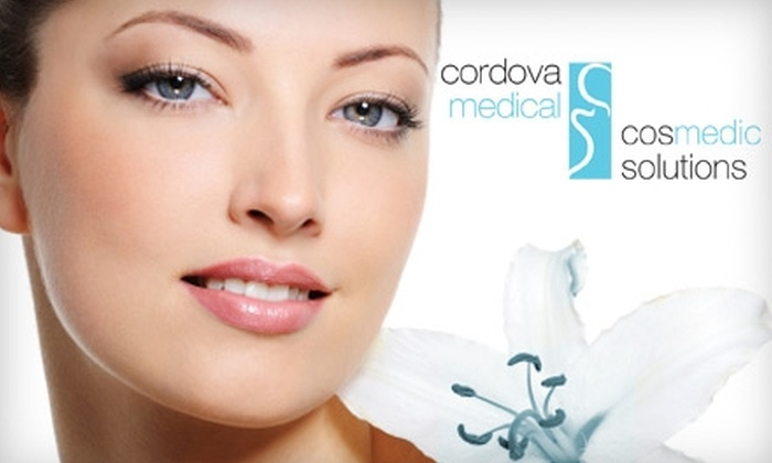 CosMedic Solutions - Alliance of Cordova Neighborhoods: $45 for Chemical Peel or Microdermabrasion Facial at CosMedic Solutions