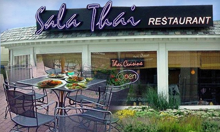 Sala Thai - Multiple Locations: $20 for $40 Worth of Thai Cuisine at Sala Thai. Choose From Three Locations.