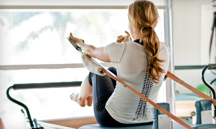 The Pilates Place - Flamingo / Lummus: One or Five Introductory Group Pilates Equipment Classes at The Pilates Place in Miami Beach (Up to 61% Off)