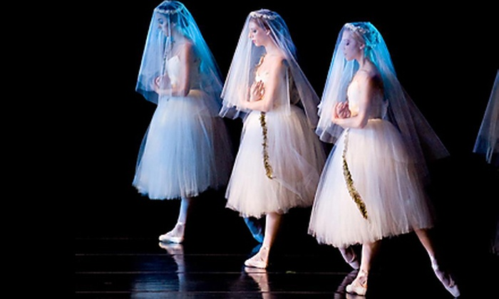 """Tickets for Two or Four to """"Giselle"""" from Cincinnati Ballet on October 28 or 29 (Up to 58% Off). Three Shows Available."""