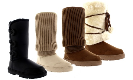 Women's Snow Boots in Choice of Colour and Design